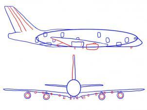 Flugzeug Transport Zeichnen Tutorials