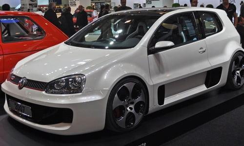 VW Golf GTI Bricolage en papier Voitures