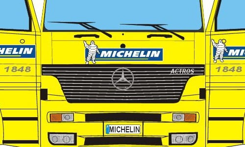 Ciężarówka Michelin