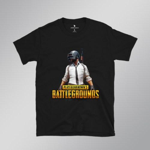 Áo game PUBG PlayerUnknown's Battlegrounds Classic màu đen