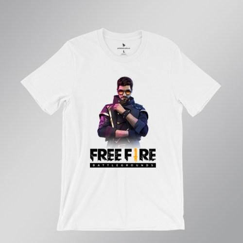 Áo thun DJ Alok Freefire - áo trắng