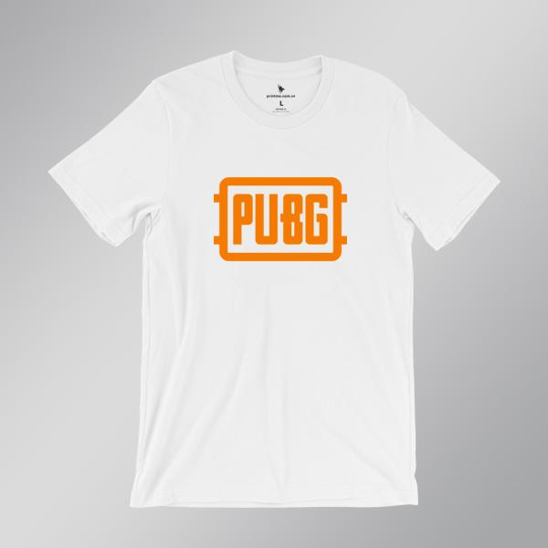 Áo thun logo PUBG trắng - Printme
