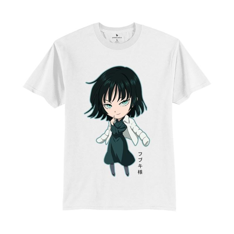 Áo anime Fubuki Chibi trắng