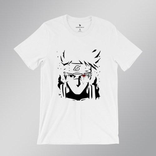 áo thun hatake Kakashi - áo trắng