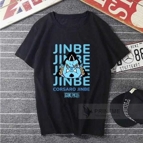 Áo Thun Jinbe - One Piece - áo đen