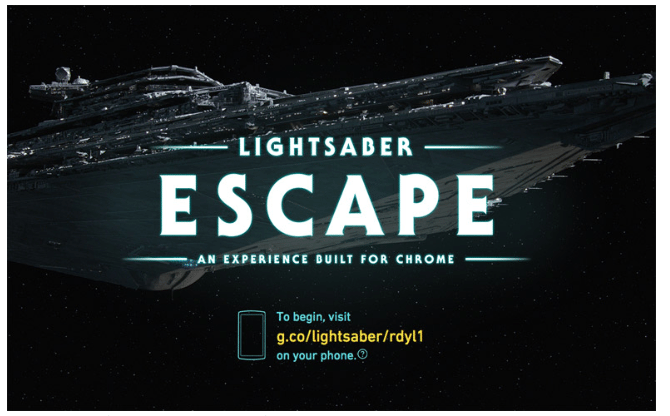 Lightsaber Escape Star Wars Print Media Centr