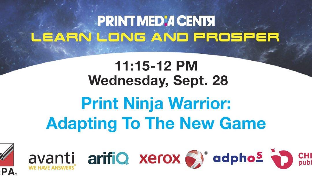 [VIDEO] Print Ninja Warrior: Adapting To The New Game