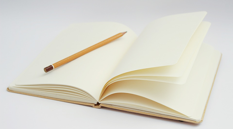 Inspiration Starts With a Blank Page