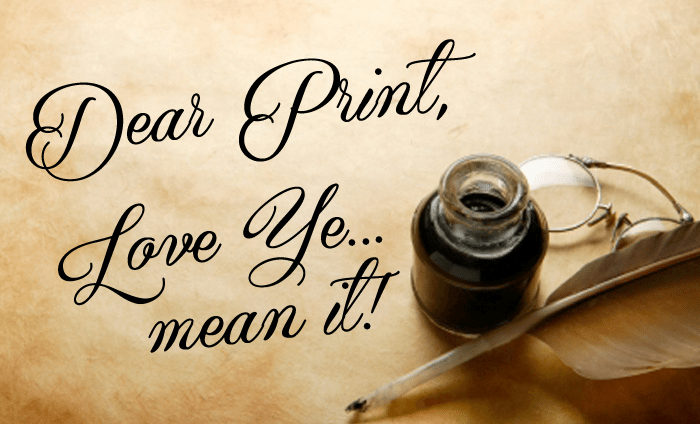 Four Love Letters to the Printing Press, from Historical Figures
