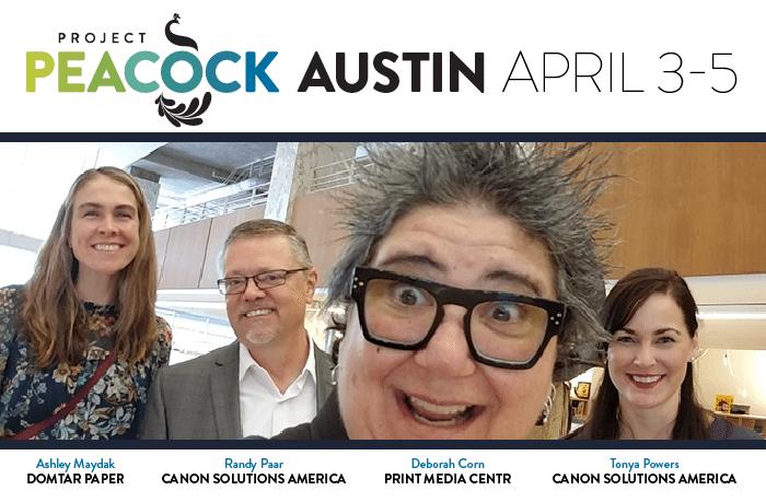 project peacock Austin print media centr