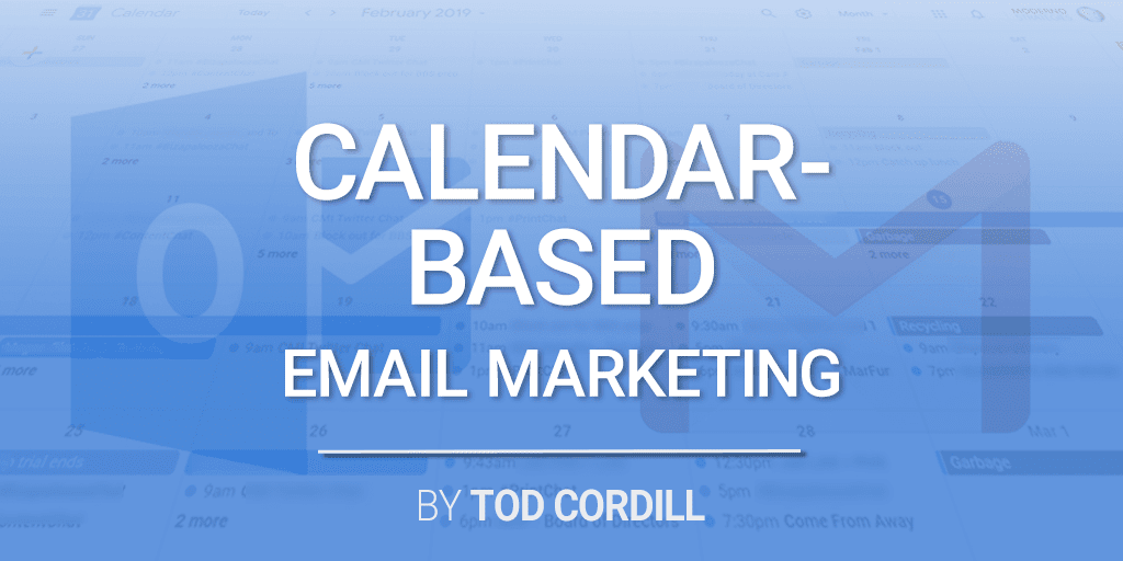 calendar based email marketing
