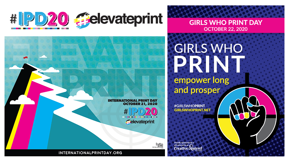 International Print Day #IPD20 and #GirlsWhoPrint Day go Back-to-Back in 2020
