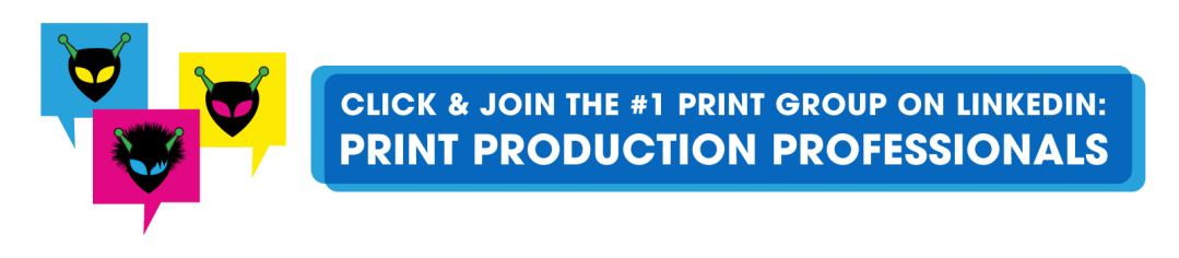 LinkedIn group for print and marketing professionals