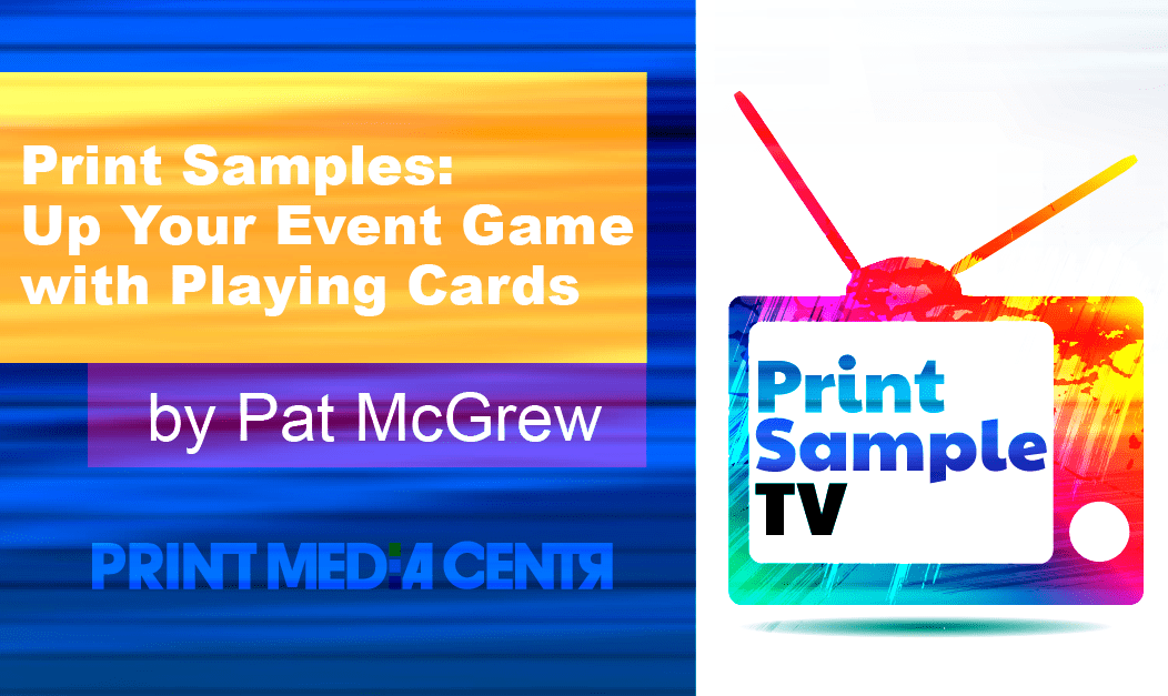 Print Samples: Up Your Event Game with Playing Cards