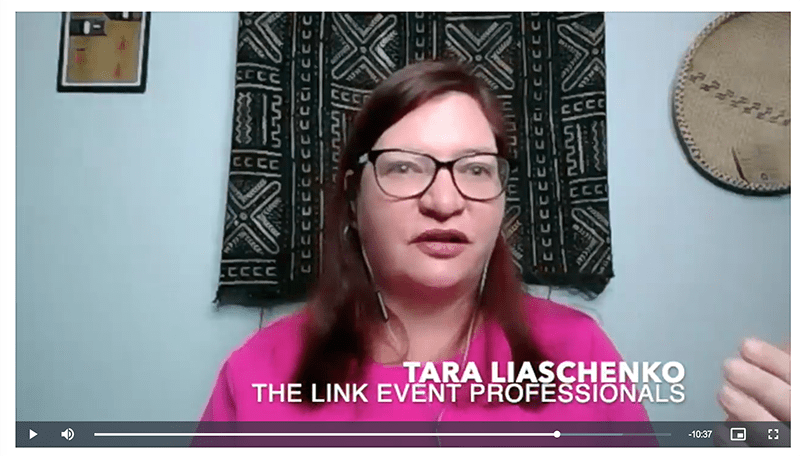 How to collaborate and work with meeting and event planners with Tara Liaschenko