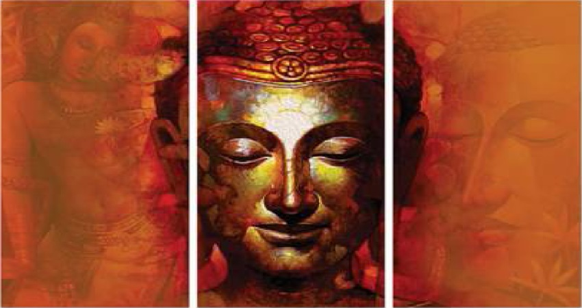 Beautify Your Home With Blissful Buddha Wall Art Panels