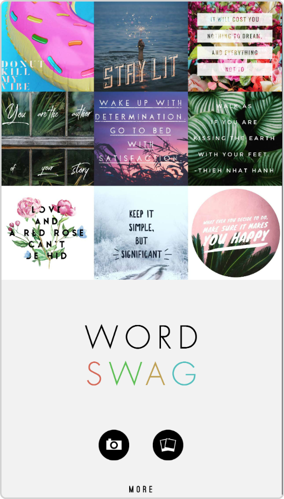 Create POD Designs with Wordswag