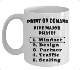 Print on Demand Business Model - Phase 1 - Mindset