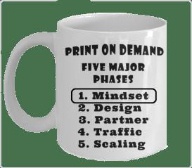 Print on Demand Business Model - Phase 1 - Mindset