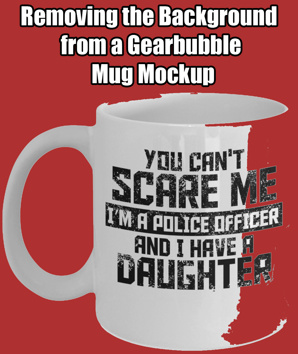 Removing Background of Gearbubble Mug