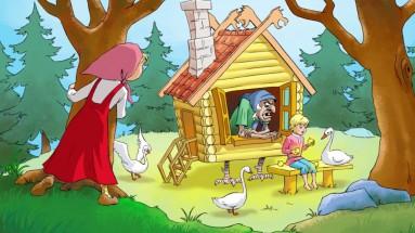 Картинки по сказке Гуси-лебеди: распечатать или скачать ...