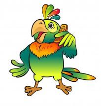 Картинки с попугаями: распечатать или скачать бесплатно ...