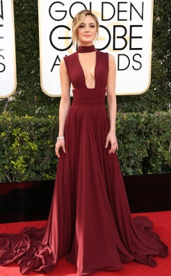 christine-evanglista-golden-globes-awards