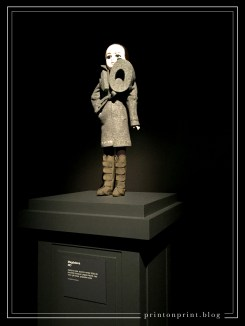 NO ready-to-wear collection, autumn winter 2008-09. Magdalena doll 2008. Porcelain (bisque), papier-mâché, hair, wool, gilt brass, polyester boots.