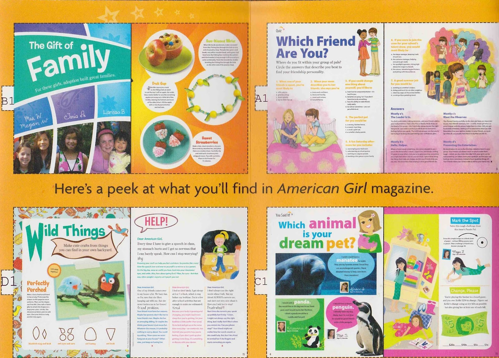 Mini American Girl Magazines For Ag Dolls