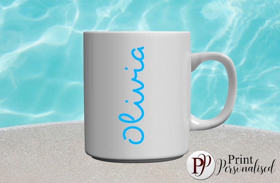 LOVEISLAND inspired-Blue mug