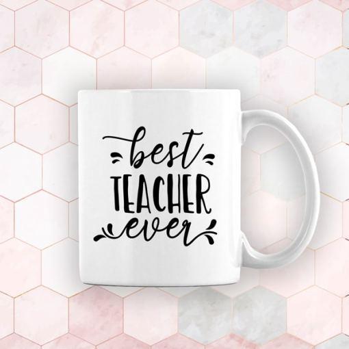 Best Teacher Ever Mug!