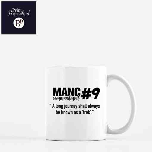 manc commandments mugs