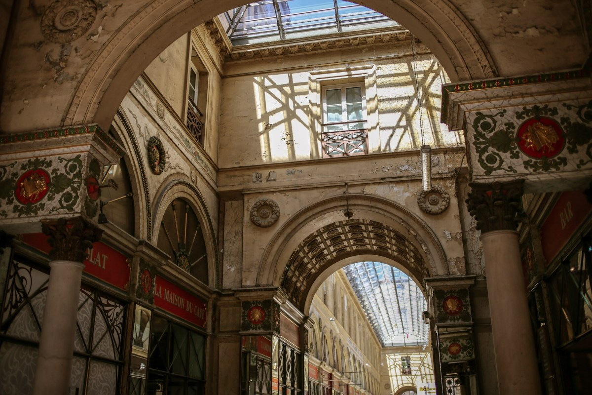 Shopping Arcade in Bordeaux