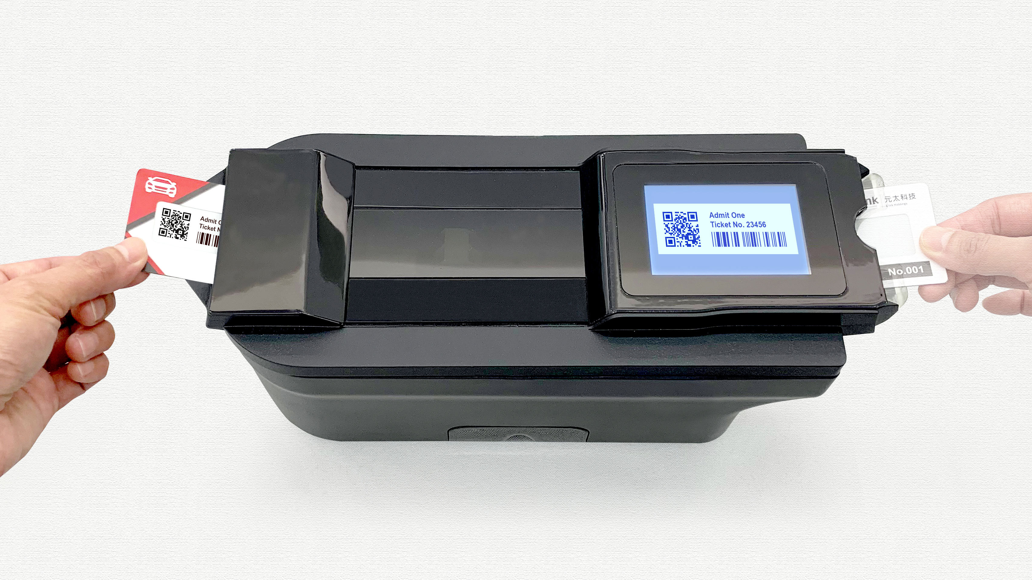 E Ink to Showcase New Badge Print Technology at Touch Taiwan 2019