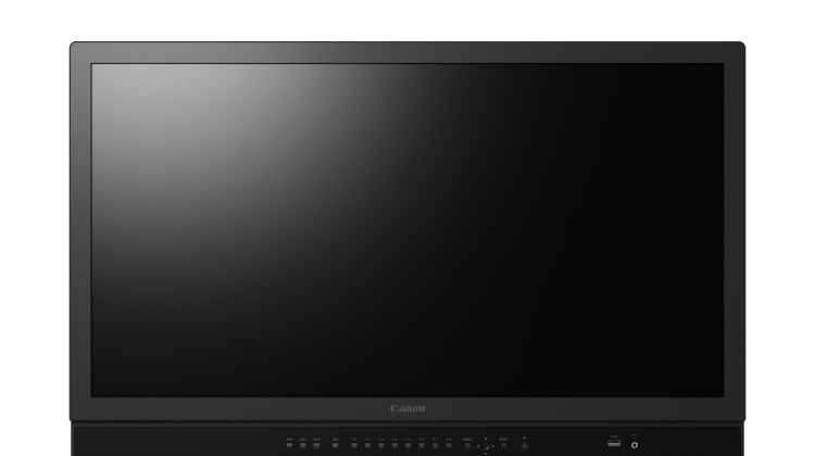 Canon's New DP-V3120 4K Reference Display
