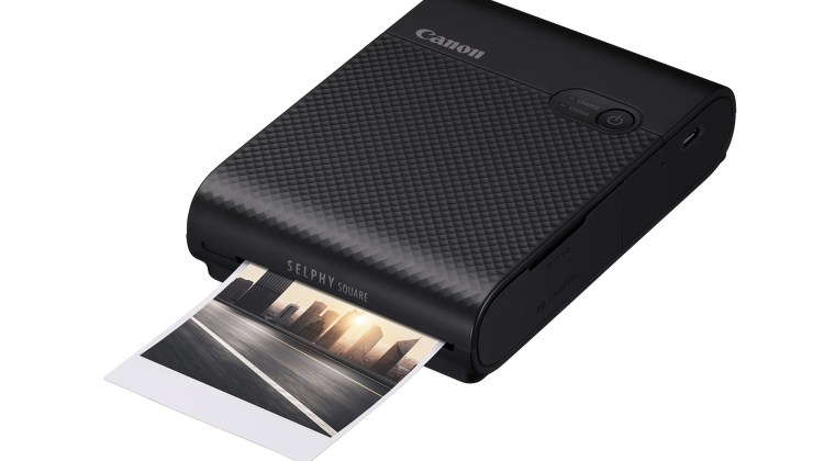 Canon SELPHY Square in Black
