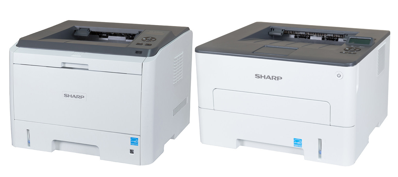 Sharp DX-B351PL and DX-B352P monochrome printers