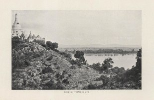 "O'Connor: Ava. 1907. An original antique photolithograph. 6"" x 5"". [SEASp1586]"