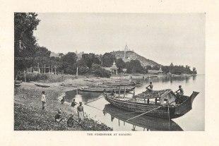 "O'Connor: Sagaing. 1907. An original antique photolithograph. 6"" x 5"". [SEASp1587]"
