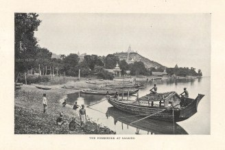"O'Connor: Sagaing. 1907. An original antique photolithograph. 6"" x 5"". [SEASp1587]"
