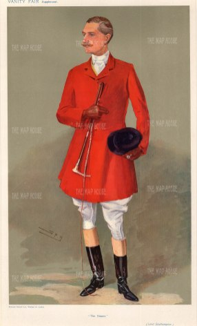 """The Sinner"" Charles FitzRoy, 4th Baron Southampton."
