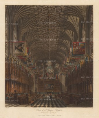 Choir of St George's Chapel.