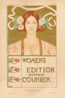 Cover for the Women's edition by the American illustrator A.R. Gifford.