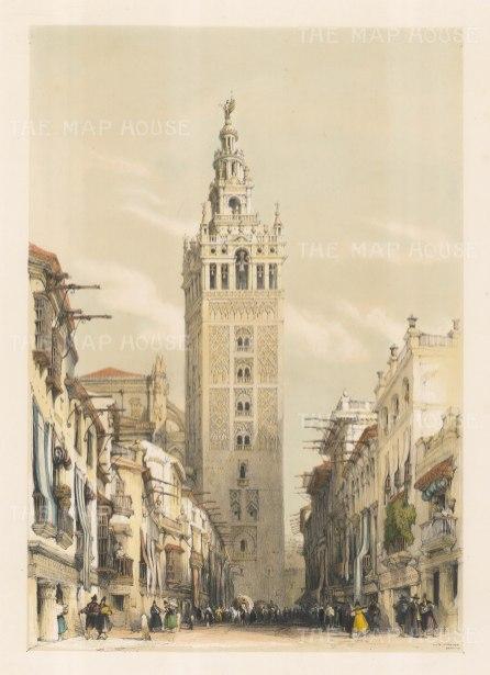 The Giralda tower.