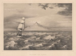 Tristan da Cunha: Tristan, Inaccessible, Gough and the Nightingale Islands.