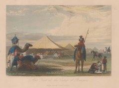 "Jackson: Benonn, Mali. c1840. A hand coloured original antique steel engraving. 6"" x 4"". [AFRp1355]"