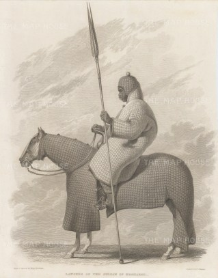 Chad: Lancer of the Sultan of Begharmi.