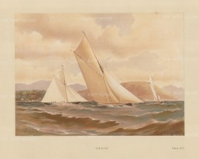 Verve, 10 ton cutter designed by George Watson in 1881.