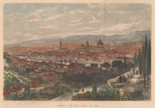 Following the annexation of Tuscany into the Kingdom of Italy, Florence became the capital until 1870 when it was replaced by Rome.