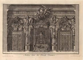 Baroque Wall Design: A side of a parade chamber.